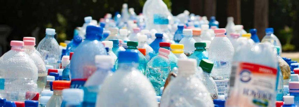 Plastics bottles